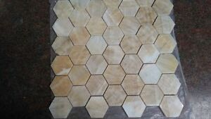2 inch Onyx Hexagonal tile