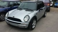2002 MINI COOPER LOW KM'S 2 to choose from...
