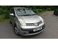 2007 NISSAN NOTE SE 5 DOOR HATCHBACK PETROL