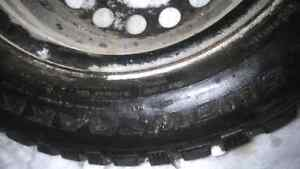 Winter tires and rims Peterborough Peterborough Area image 1