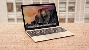 2015 MacBook Gold w/ Apple Care+ & Retina Display