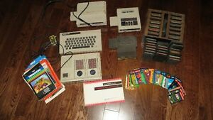 Complete Intellevision game system and games