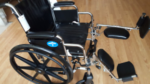 New folding wheelchair for sale