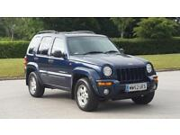 2002 Jeep Cherokee 2.5 TD Limited 4x4 5dr