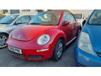 2006 Volkswagen Beetle 1.6 LUNA 8V 2d 101 BHP Convertible Petrol Manual