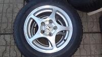 Mags 15`` 5X114.3 + pneus Hiver 195 65R15 Honda Civic 06-2015