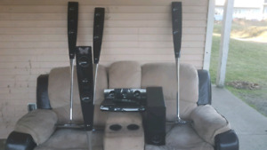 LG Surround sound system and DVDs