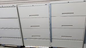 4 DRAWERS LATERAL FILING CABINETS