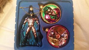 Christmas Ornament Kurt S Adler Mercury Glass DC Comics