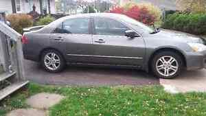 2007 Honda Accord Grey Sedan