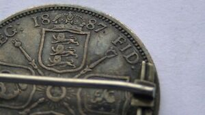 1887 QUEEN VICTORIA  Silver Brooch (VIEW OTHER ADS) Kitchener / Waterloo Kitchener Area image 7