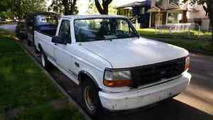 REDUCED 1996 FORD F-150 LOW KMS. LOTS OF NEW PARTS