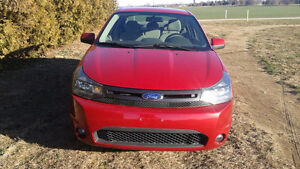2010 Ford Focus Sel Coupe (2 door)