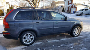 Volvo XC90 3.2 AWD-DVD-CUIR-TOIT-7 SEATS  + 2 sets tires on MAGS