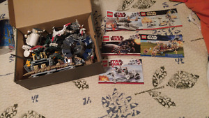 Star wars lego and Bionicles
