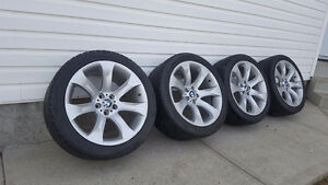 "20"" BMW X5 rims and tires"