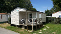 Mobilehome, (#52), Camping Le Patisseau, Pornic, France