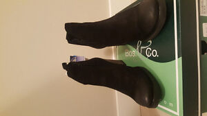 Boss and Co lined black ankle boots
