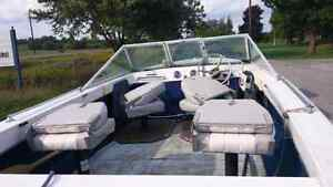 1985 Northcraft with 70hp johnson, trailer and tilt /trim Peterborough Peterborough Area image 6