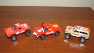Lot of 3 Coca-Cola die-cast vehicles