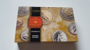 1999 Royal Canadian Mint Collection Set