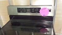 """ASSEMBLY APPLIANCES 30"""" STAINLESS STEEL FREESTANDING STOVE"""