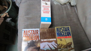 Alistair MacLean 3pack of books