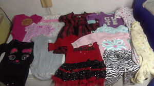 Tons of baby girl clothes Kitchener / Waterloo Kitchener Area image 1