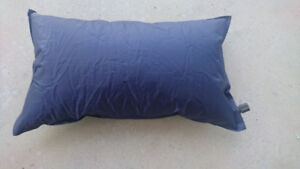 Self-inflating travel/camp pillow - NEW