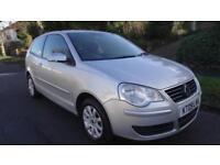 VOLKSWAGEN POLO SE - 12 MONTHS WARRANTY - AUTOMATIC 2009 Auto 55956 Petrol Silv