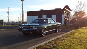 CHEVROLET CHEVELLE 1967 SS CLONE 2 PORTES HARD TOP