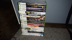Selling XBox 360 Games contact for info