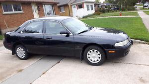 1995 Mazda 626 Blk Sedan