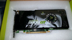Two geforce graphic cards 8800 gt & 9800 gt