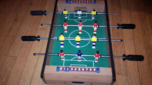 jeux fusball soccer game table