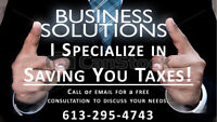 TAXES, ACCOUNTING and BOOKKEEPING, CPA, CA