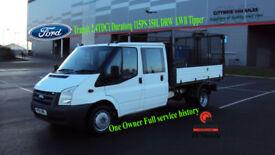 2011 FORD TRANSIT 2.4TDCi DURATORQ 115PS 350L DRW LWB D/CAB TIPPER