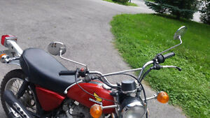 1974 Honda XL 100 in excellent shape (collector's item) Kitchener / Waterloo Kitchener Area image 3