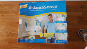 Aquasense Raised toilet Seat