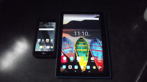 Back to School Special -  LG K4 Smart Phone.  Lenovo Tablet ++!