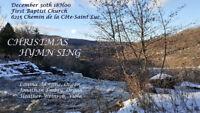 Christmas Hymn Sing