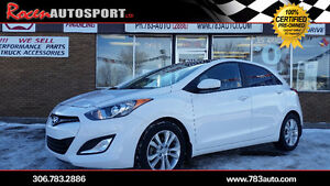 CERTIFIED 2013 ELANTRA GT - 71K - WARRANTY UNTIL 2021 - YORKTON