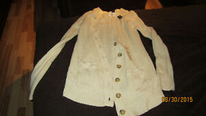 BRAND NEW IVORY CARDIGAN FROM GAP SIZE 14-16 XXL London Ontario image 1