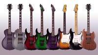 Guitar / guitare electrique neuves