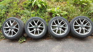 235/45/18 Fast alloy rims and tires