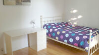 Girl roommate,fully nice furnished,all incl,metro vendome,July 1