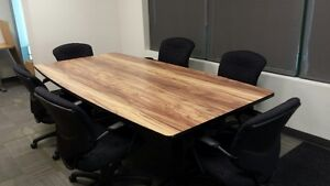 Professional Conference Room Table & Chair Set