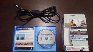 PS4 Rocksmith All New 2014 edition WITH Realtone cable