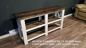 RUSTIC BUILT FURNITURE  (WILL TRADE FOR YOUR RECORDS)