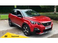 2018 Peugeot 3008 1.6 THP GT Line EAT6 Automatic Petrol Estate